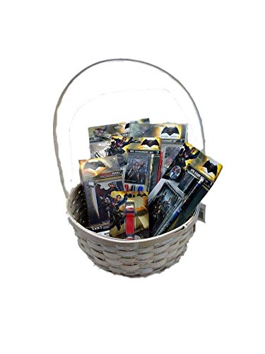 Batman vs Superman- Baby Gift Basket For Boys (20+ Pcs)| Boys Gift Basket/ Set | Kids Gift Basket | Perfect Baby Gift Ideas for Birthdays, Easter, Christmas, Get Well, or Other Occasion!