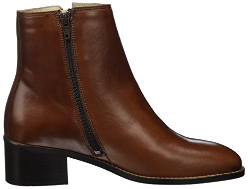 Marc OPolo Damen Mid Heel Bootie 70714166101101 Stiefel Braun (Rust)