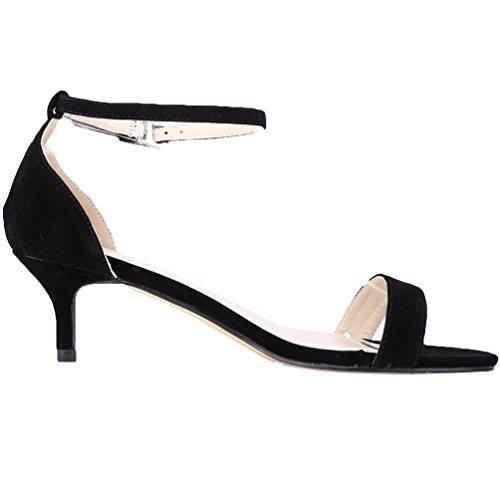 Tiras Mujer Tac Zapatos la de Hebillas para Parte Mujer WanYang en y SZ4xAqqw