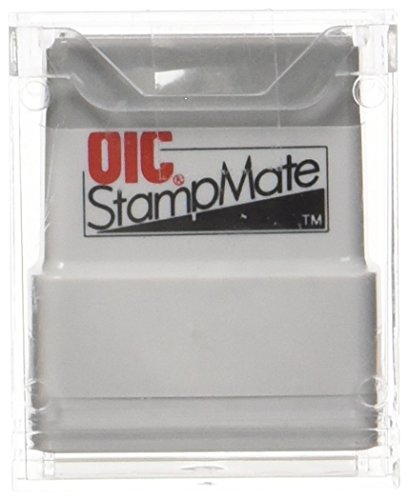 """Price comparison product image OfficemateOIC Office Pre-Inked Message Stamp,""""Received with Date"""", Red, Refillable (77034)"""
