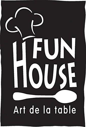 FUN HOUSE 005814 LEON LE DRAGON Set de couverts compos/é dune cuill/ère et dune fourchette pour enfant