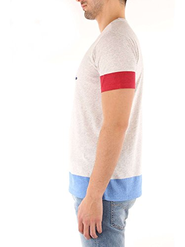 Grey L Melange T Block rich Uomo Penn Logo Woolrich shirt Wytee0411 E Tee Canotte wOP7Y