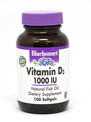 BLUEBONNET Nutrition Vitamin D3 1000 IU