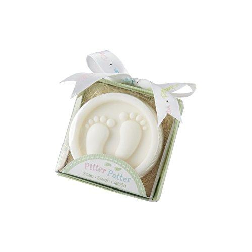 Kate Aspen Pitter Patter Soap, White