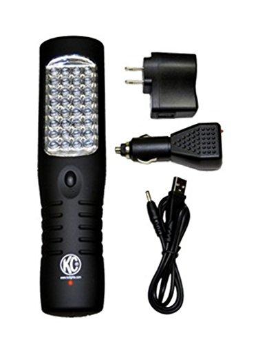 KC HiLiTES 9926 Rechargeable Flashlight
