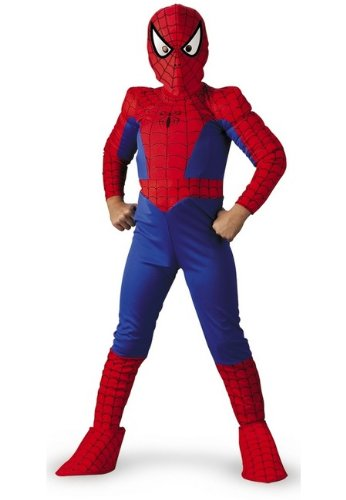 Ultimate Spiderman Boys Large Deluxe Costume ()