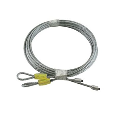 (GARRAG) Garage Door Cables For Torsion Spring 10' Long Door (138