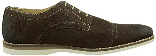 Mens Derby Base Lace Black suede Brown Brown and Informal of Brogue UPS Leather London Formal Oxford Range and x1wpSwfEYq
