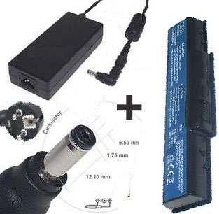 Batería y Cargador PC móvil E-Force ® para Packard Bell ...