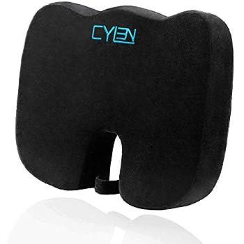 Amazon.com: Dr. Tushy Wedge Seat Cushion, 100% Memory Foam ...