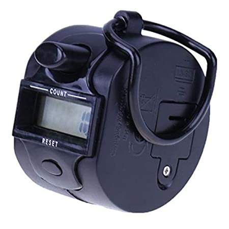 Sala-Ctr Portable 5 Digit Display Digital Hand LCD Electronic screen Held Tally Counter Finger Mini Handheld Clicker People Counter Meter