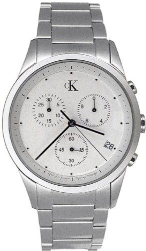 Calvin Klein Bold Silver Dial Stainless Steel Men's Watch K2237120