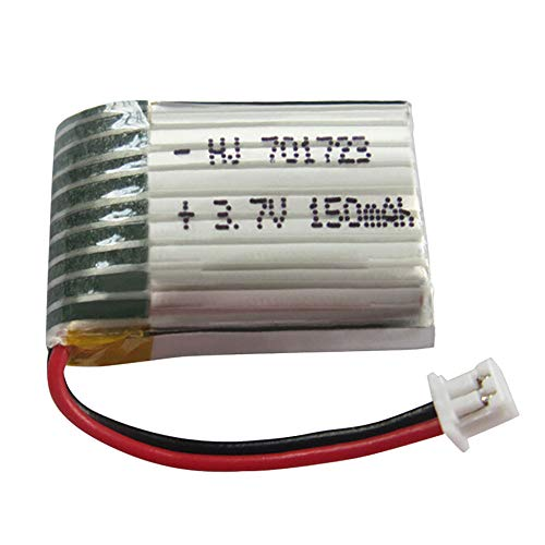 Ackful3.7V 150mAh Lipo Battery for JJRC H20 SYMA S8 TianKe M67 YD 927 RC Quadcopter