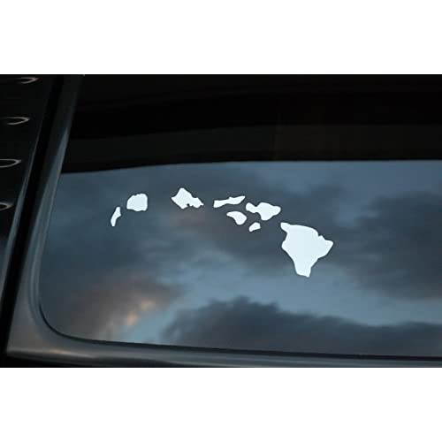 lovely Hawaiian Islands Sticker Vinyl Decal CHOOSE YOUR