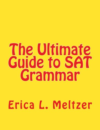 (The Ultimate Guide to SAT Grammar)