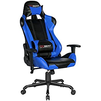 OPSEAT Master Series PC Gaming Chair Racing Seat Computer Gaming Desk Chair (Blue)