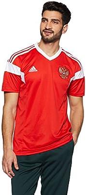19503b7e Amazon.com : adidas Russia Home Jersey 2018/2019 - L : Sports & Outdoors