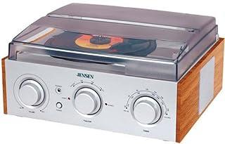 JENSEN JTA-220 3-Speed Turntable with AM/FM Receiver & Stereo Speakers (B000UVKE2I)   Amazon price tracker / tracking, Amazon price history charts, Amazon price watches, Amazon price drop alerts