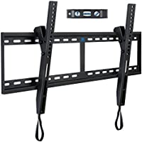 Mounting Dream MD2268-XL TV Wall Mount Tilt Bracket for 42-84 Inch LED, LCD Flat Screen TV up to VESA 800 mm and 132 LBS, One-Piece Wall Plate Easy for TV Centering on 16''~32'' Wood Studs