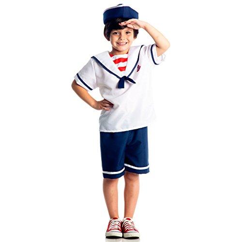 Marinheiro Infantil 23147-M Sulamericana Fantasias M 6/8 Anos