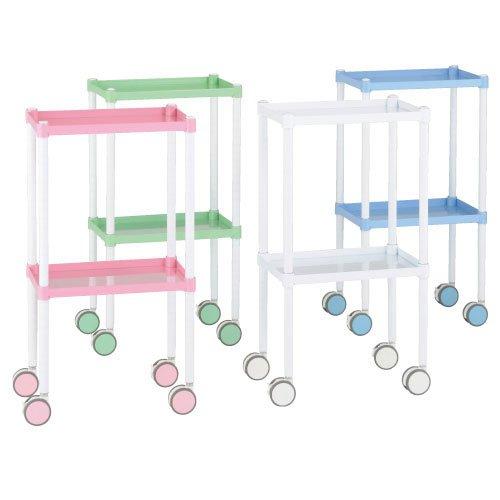 カラーラウンドカート(2段タイプ) CR2ANSG( (2(23-2057-02) CR2ANSG(【エレクター B01KDPIA12】[1台単位] B01KDPIA12, plywood furniture:8835a0dd --- ijpba.info