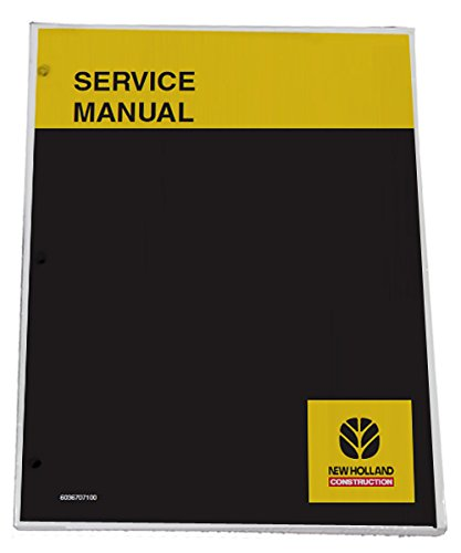 - New Holland LB75.B, LB90, LB110, LB115.B Backhoe Workshop Repair Service Manual - Part Number 6045606100R0