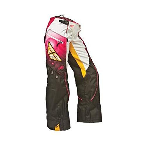 Fly Racing Kinetic Race - Fly Racing Kinetic Womens Over Boot Race Pants Pink/Orange (Pink, 5/6)