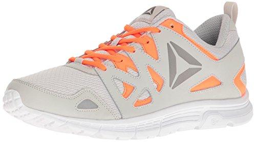 Supreme Mens Shoe (Reebok Men's Run Supreme 3.0 MT Shoe, Skull Grey/Wild Orange/Pewter/White, 8.5 M US)