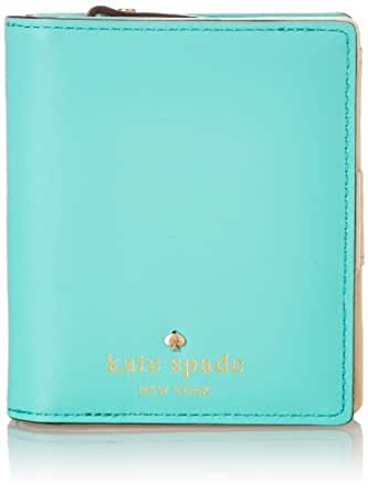 Kate Spade New York 2 Park Avenue Buttercup Wallet Giverny Blue One Size