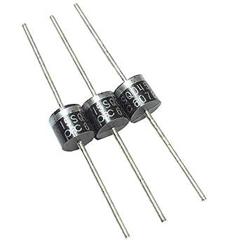 Poilee 15SQ045 Schottky Diodo 15 Amp Rectificador Bypass Blocking Diodos 15 A 45 V para panel de celdas solares (Pack de 10pcs): Amazon.es: Amazon.es