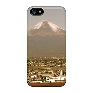 Premium Protection Foot Volcano Cases Covers For Iphone 5/5s- Retail Packaging