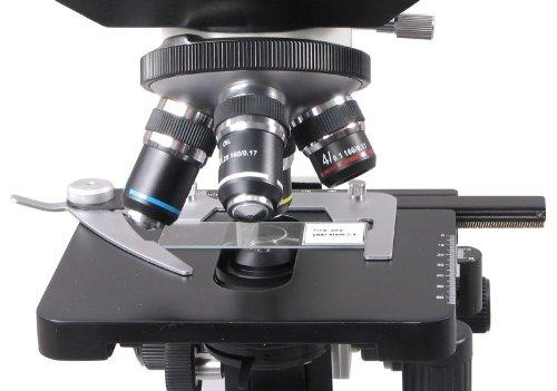 OMAX 40X-1600X Digital Lab Trinocular Biological Compound Microscope with 1.3MP USB Digital Camera