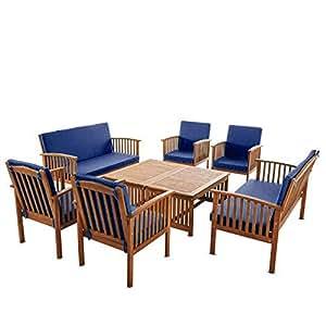 Amazon Com Living Essentials Patio Furniture 8 Piece