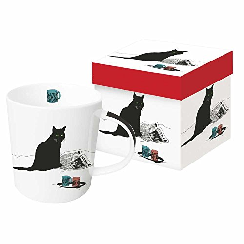 Paperproducts Design Mug In Gift Box Black Cat