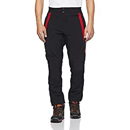 Advenly Super-Adventure Riding Trouser (Black and Red, L) (DD-RG-0023)