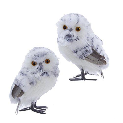 Kurt Adler Owl Ornaments for Christmas Tree • Comfy Christmas
