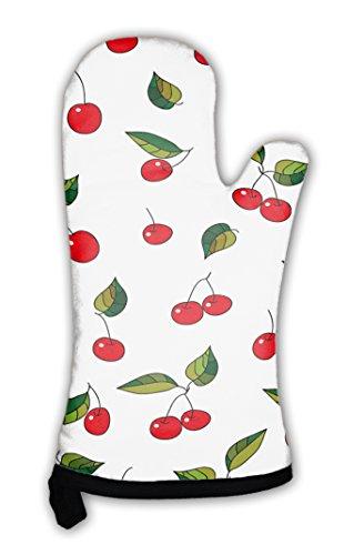 Gear New Oven Mitt, Pattern Sweet Cherry, GN24321 (Cherry Fresh Oven Mitt)