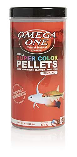 Omega One Super Color Sinking Pellets, 2mm Pellets, 8 oz