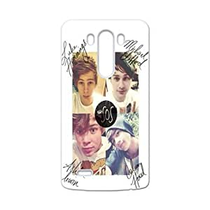 5 SECONDS OF SUMMER Phone Case for LG G3 by runtopwell