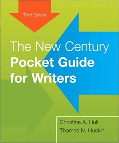 The New Century Pocket Guide for Writers (3rd Edition) by Christine A. Hult (2009-01-10)
