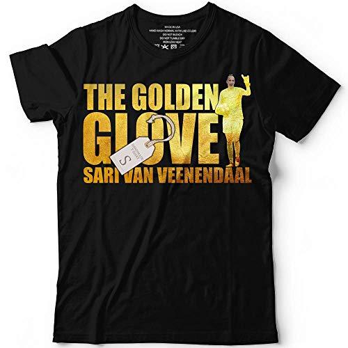 Golden-Glove Shirt Sari-Van-Veenendaal USA Soccer Champions Women Winner Customized Handmade T-Shirt Hoodie_Long Sleeve_Tank ()