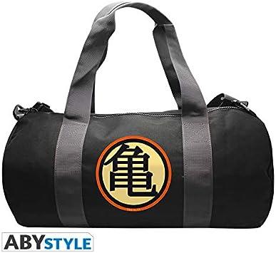 ABYstyle - Abysse Corp_ABYBAG266 Bolsa de Deporte con Bola de Dragón con el símbolo DBZ/Kame.