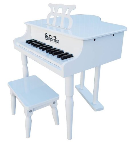 Schoenhut 30 Key Classic Baby Grand with Bench