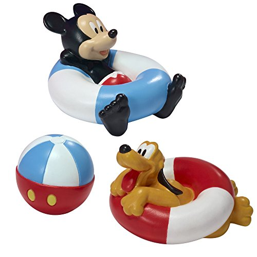 The First Years Disney Baby Bathtime Squirt Toys, Mickey Mouse (Mickey Mouse Toys Bath)