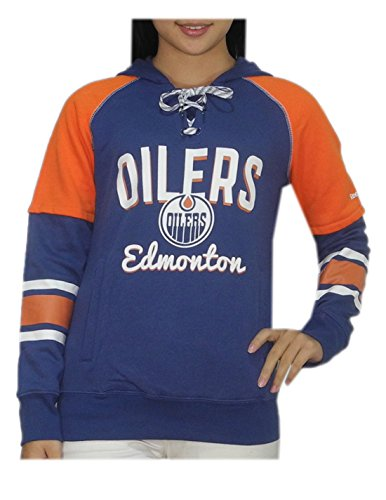 NHL EDMONTON OILERS Womens Athletic Warm Hockey Hoodie / Sweatshirt – DiZiSports Store