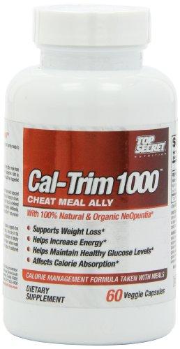 Top Secret Nutrition Cal-Trim calories Blocker Capsules, 60 comte