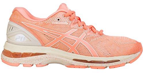 ASICS Women's Gel-Nimbus 20 Running Shoe, Cherry/Coffee/Blossom 9