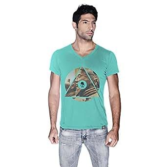 Creo China T-Shirt For Men - S, Green