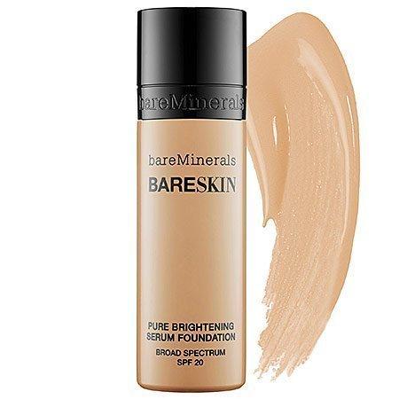 bareMinerals Bareskin Pure Brightening Serum Foundation, Bare Nude, 1 fl. oz.