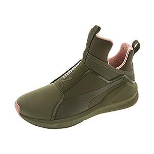 Puma Green Fierce Nubuck Naturals Training Shoe (6 B(M) US, Cameo Brown)